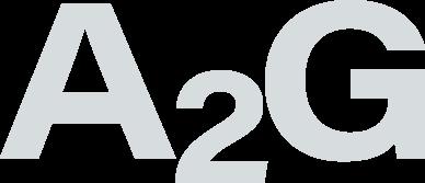 A2G logo white